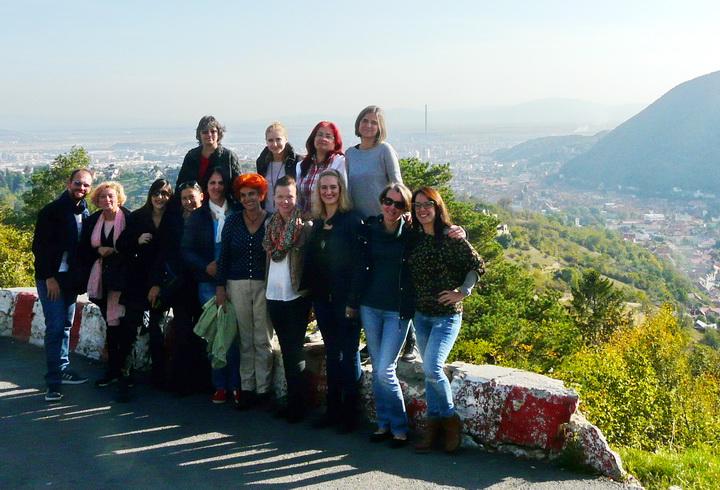 Międzynarodowe spotkanie projektowe w rumuńskiej  miejscowości Brasov
