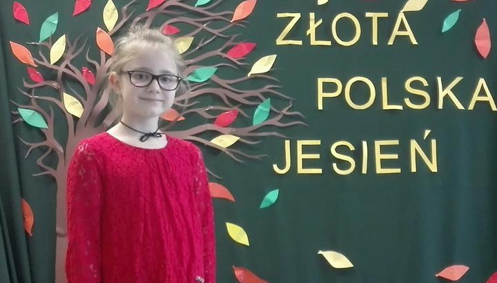 Alicja Jaczewska wyróżniona w konkursie recytatorskim
