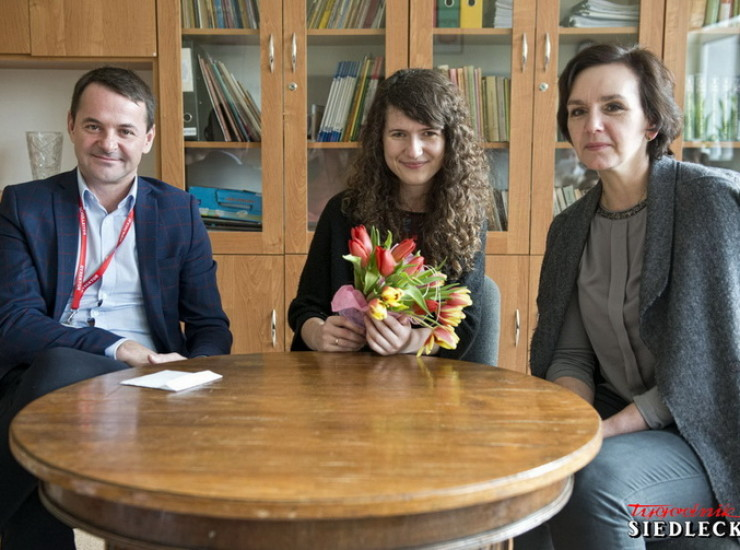 Kameralne spotkanie z absolwentką Joanną Różewską