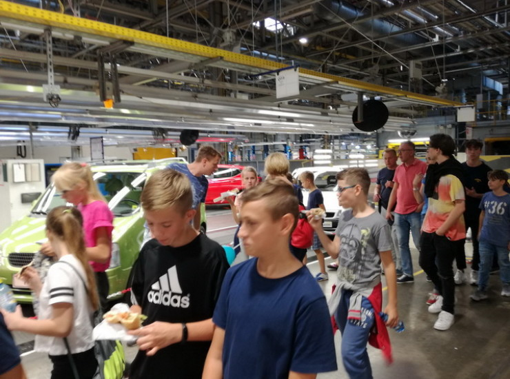 W fabryce Opla w Gliwicach