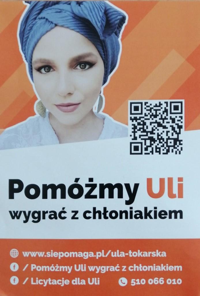 Pomagamy Uli. Prosimy o wsparcie.