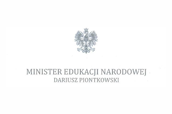List Ministra Edukacji Narodowej z okazji rozpoczęcia roku szkolnego 2020/2021